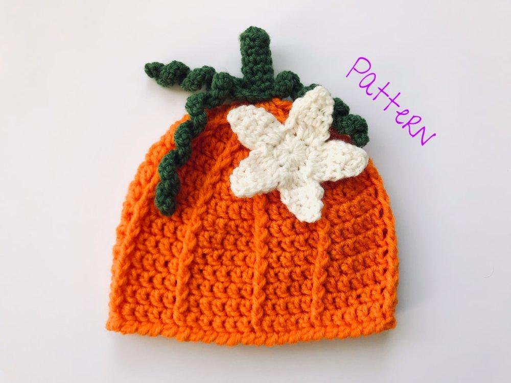 Crochet Pumpkin Blossom Applique Crochet Patterns And Theory