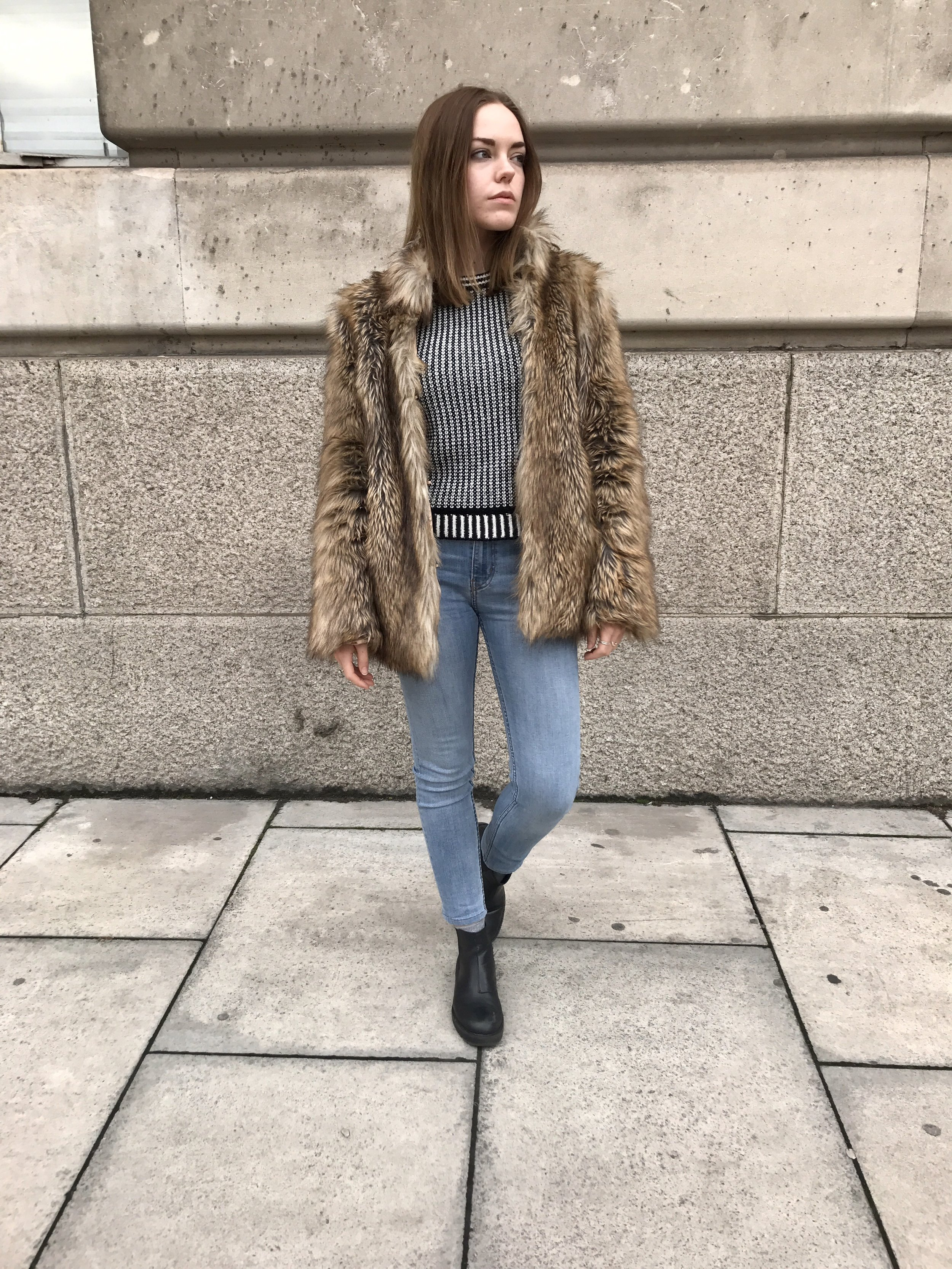 a love letter to my faux fur coat — Sustainable style