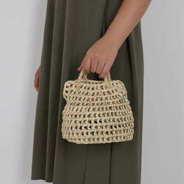 Straw mini bag
