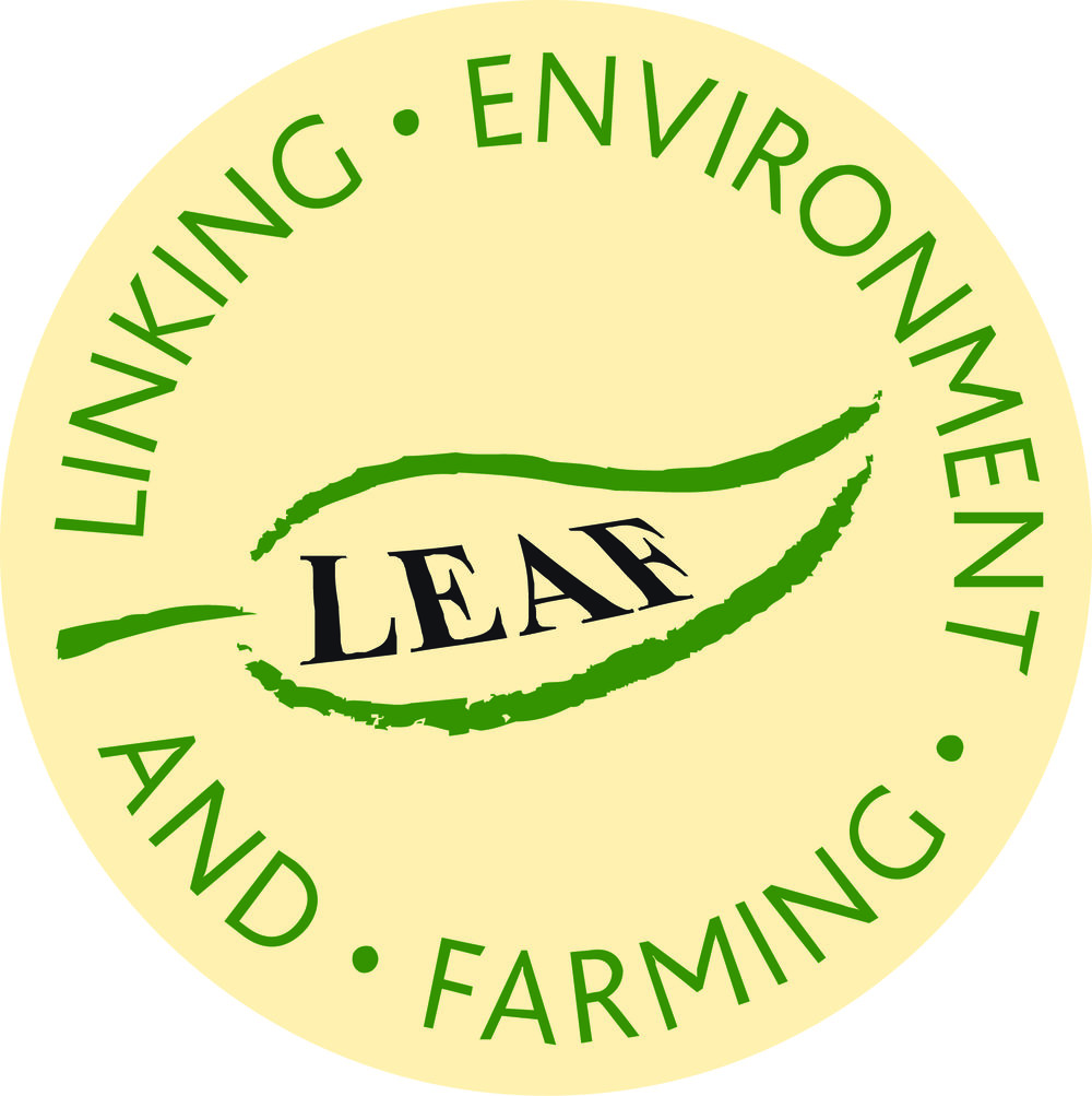 leaf marque - LEAF or Linking Environment And Farming is an organisation working 'with farmers, the food industry, scientists and consumers to inspire and enable sustainable farming.'Their certification is a global (!) assurance system that is held by those who meet their rigorous standards of sustainable farming practices. So if you see this you know that it comes from a sustainable farm!