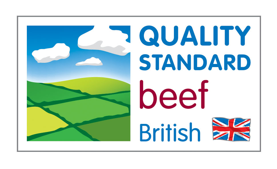 Quality standard - The Quality Standard mark is concerned with the tasteof beef and lamb. Meat carrying this mark 'is produced to higher standards than required by law with a supply chain which is fully assured and independently inspected at every stage from farm to meat counter.'And the flag also tells you where the meat is from.