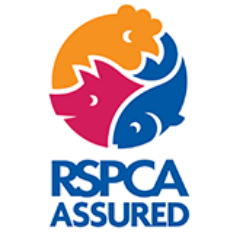 rspca assured - This logo is an indicator that the farm where the animals are from that meets RSPCA animal welfare standards and you can be confident that they were well looked after. There are in depth standards for each animal but they are based on the five freedoms :Freedom from hunger and thirst Freedom from discomfort Freedom from pain, injury or disease Freedom to express normal behaviour Freedom from fear and distress
