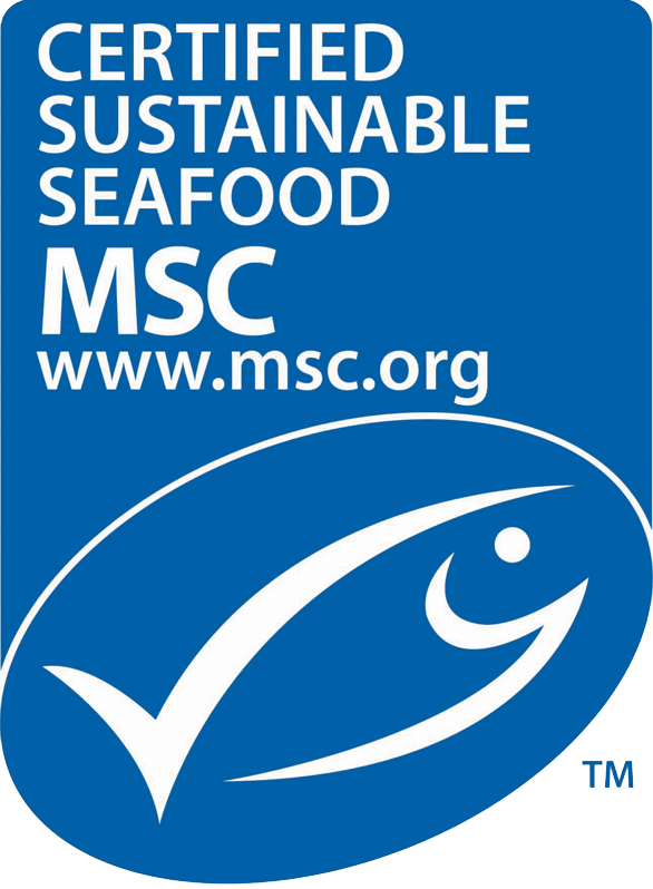 marine stewardship council blue label - MSC is well trusted and globally recognised non-profit organisation.If you see this lovely blue fish on any of your fish products you know you are buying from a sustainable fishing source. The MSC blue label indicates a certified sustainable source that is traceable.