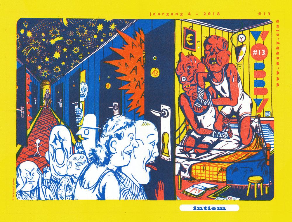 De cover van Wobby #13 door Lukas Verstraete