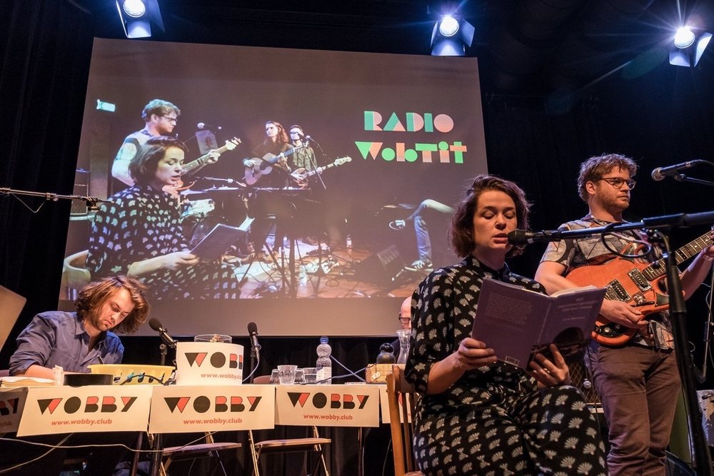 Writer Lieke Marsman and I am Oak. Photo: William van der Voort