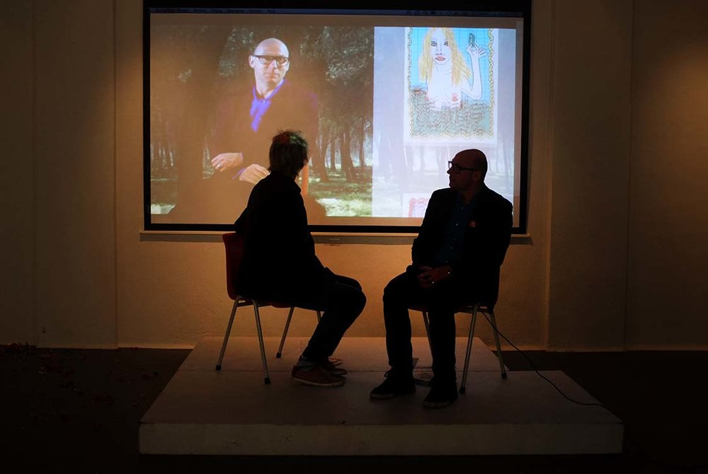 Kenjezelf Kit talk with writer Joubert Pignon
