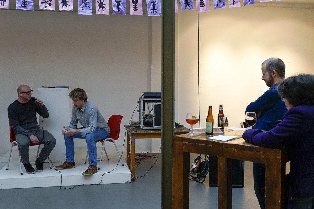 Kenjezelf Kit talk with writer Andrew Cartwright
