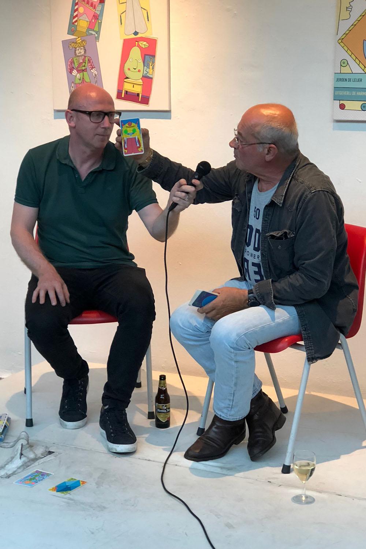 Kenjezelf Kit talk with writer L.H. Wiener