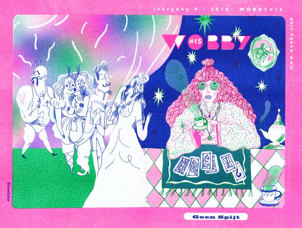 Cover Wobby #15: Shamisa Debroey & Charlotte Dumortier