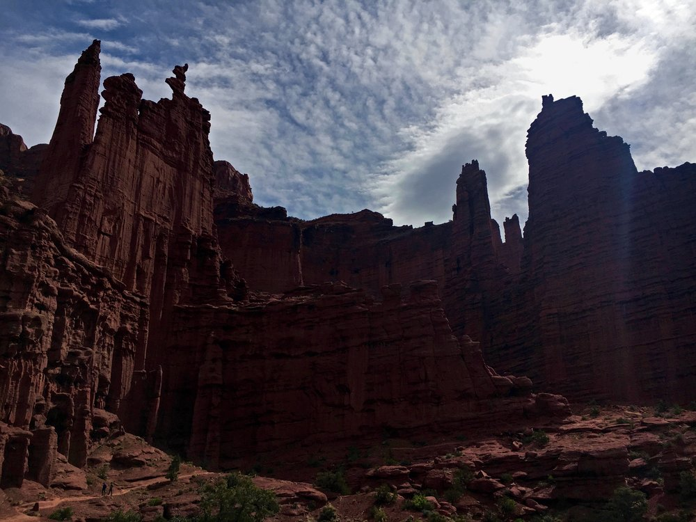 Fisher Towers - Moab, UT