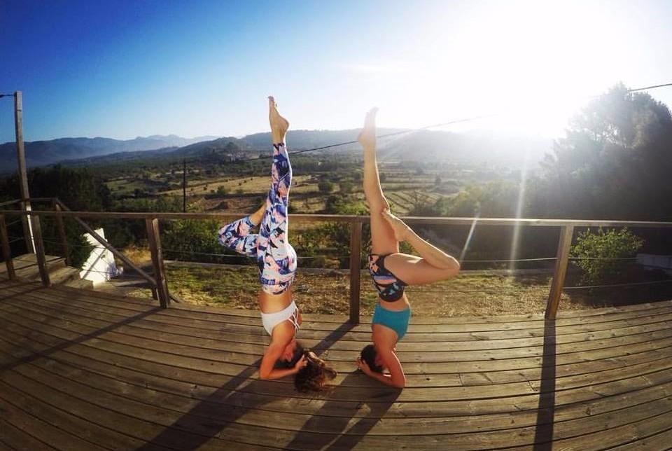 Yoga Deck overlooking the Tramuntana Valley