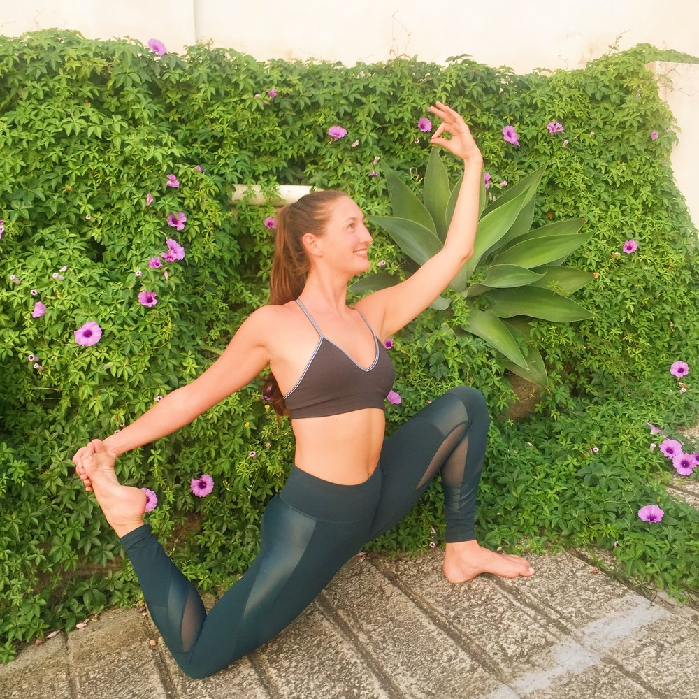 Hi I'm Jane (the one outside of the hot tub!) and I've been practising yoga EXTRA COPY, EXTRA COPY, EXTRA COPY