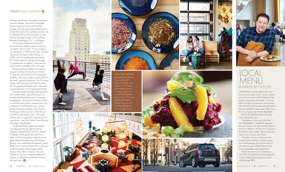 buick magazine travel north carolina