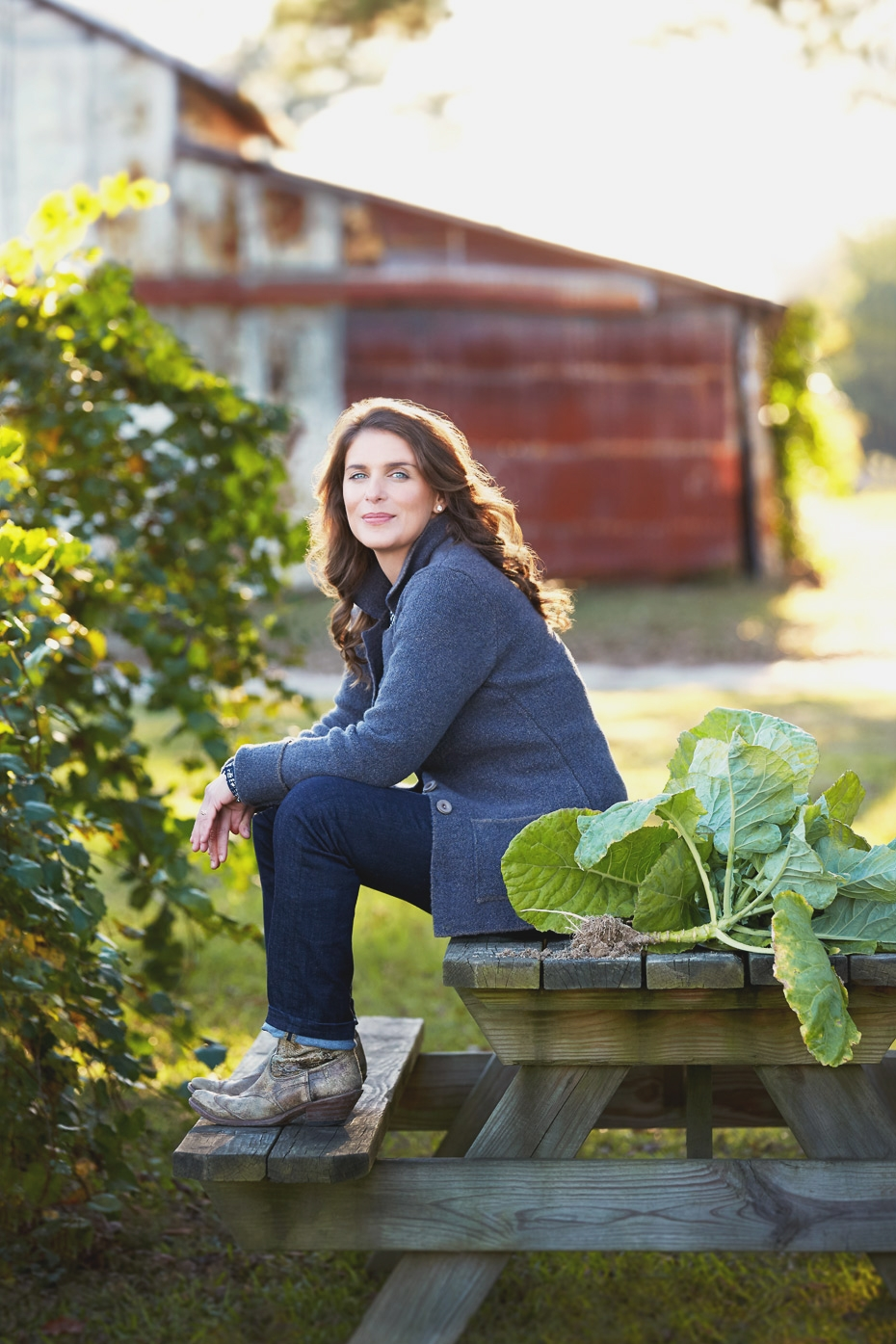 "Stacey Van Berkel Photography : Vivian Howard's cover shot for her NY Times bestseller ""Deep Run Roots"" cookbook"