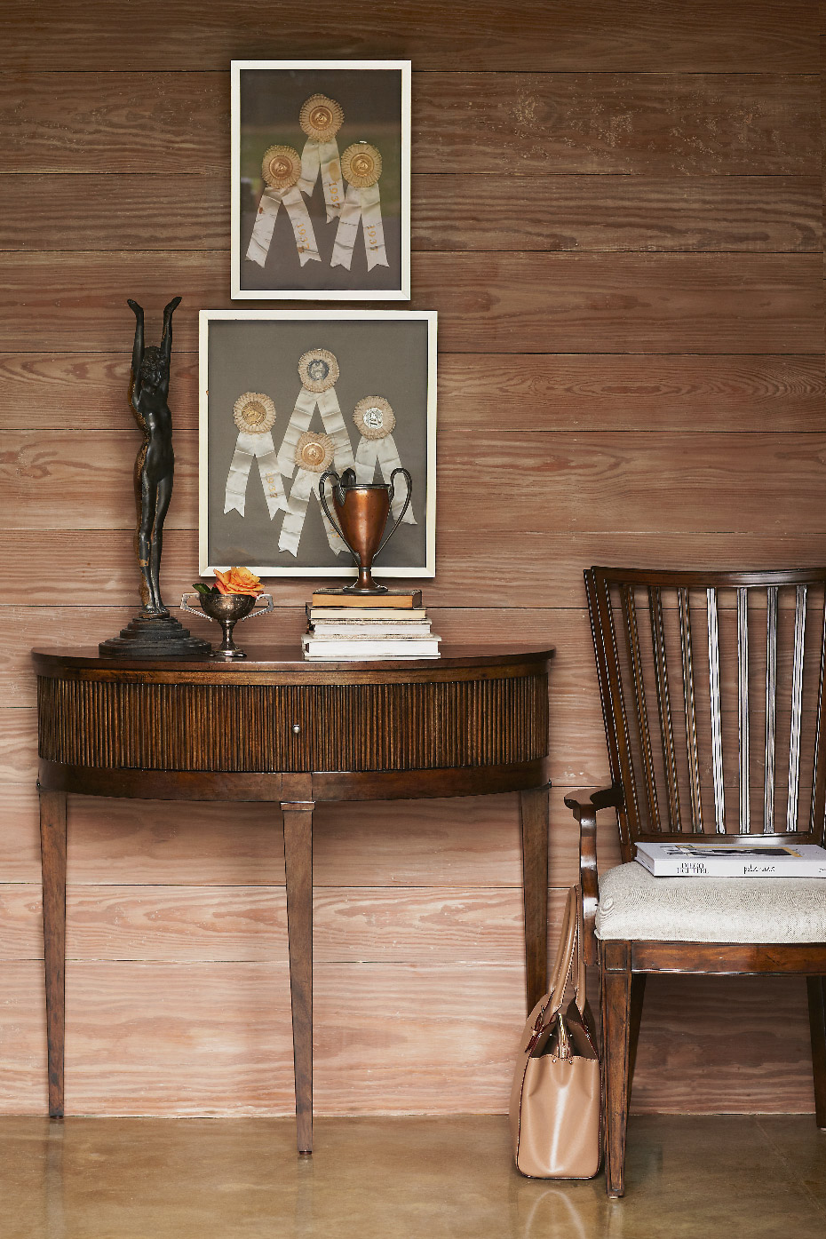 Stacey Van Berkel Photography I Equestrian Interior I Entryway I Bernhardt Furniture