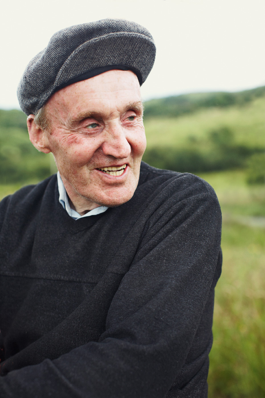 Stacey Van Berkel Photography I Irish Farmer with wool hat I Donegal, Ireland
