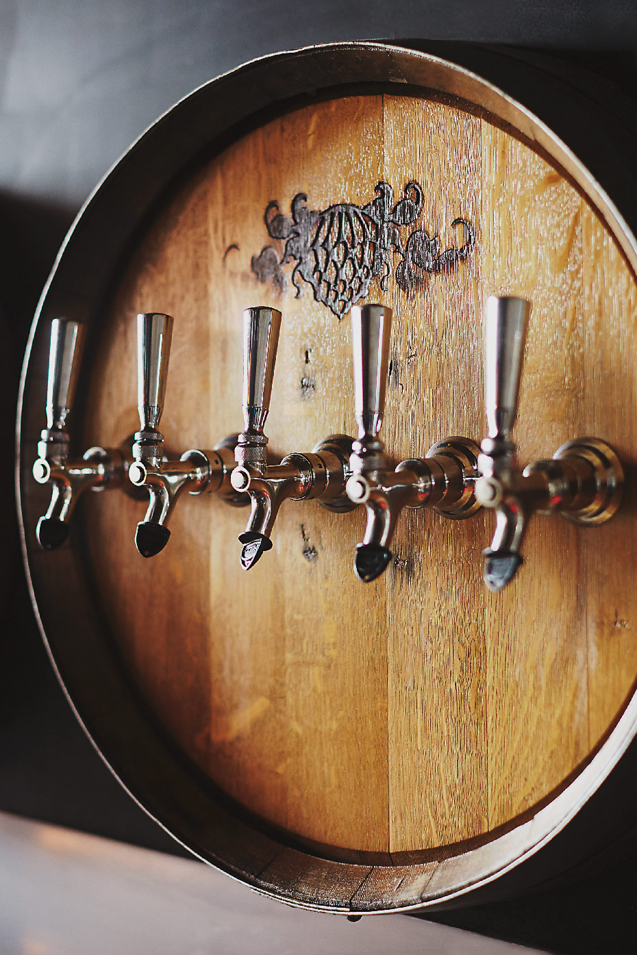 Stacey Van Berkel Photography I Wicked Weed Beer taps I Asheville, North Carolins I Garden & Gun Magazine