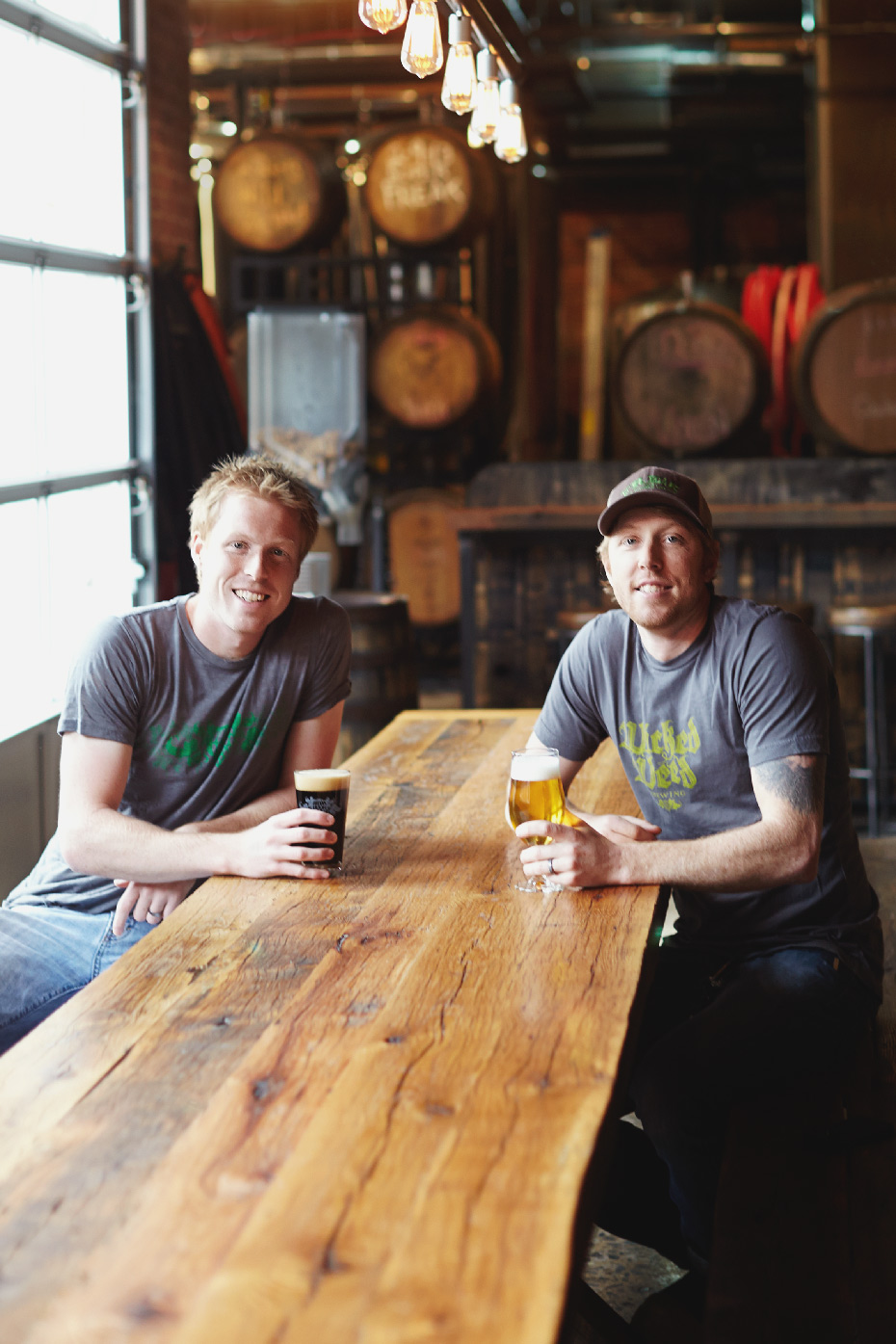 Stacey Van Berkel Photography I Brewers at Wicked Weed Brewery I Asheville, North Carolina I Garden & Gun Magazine