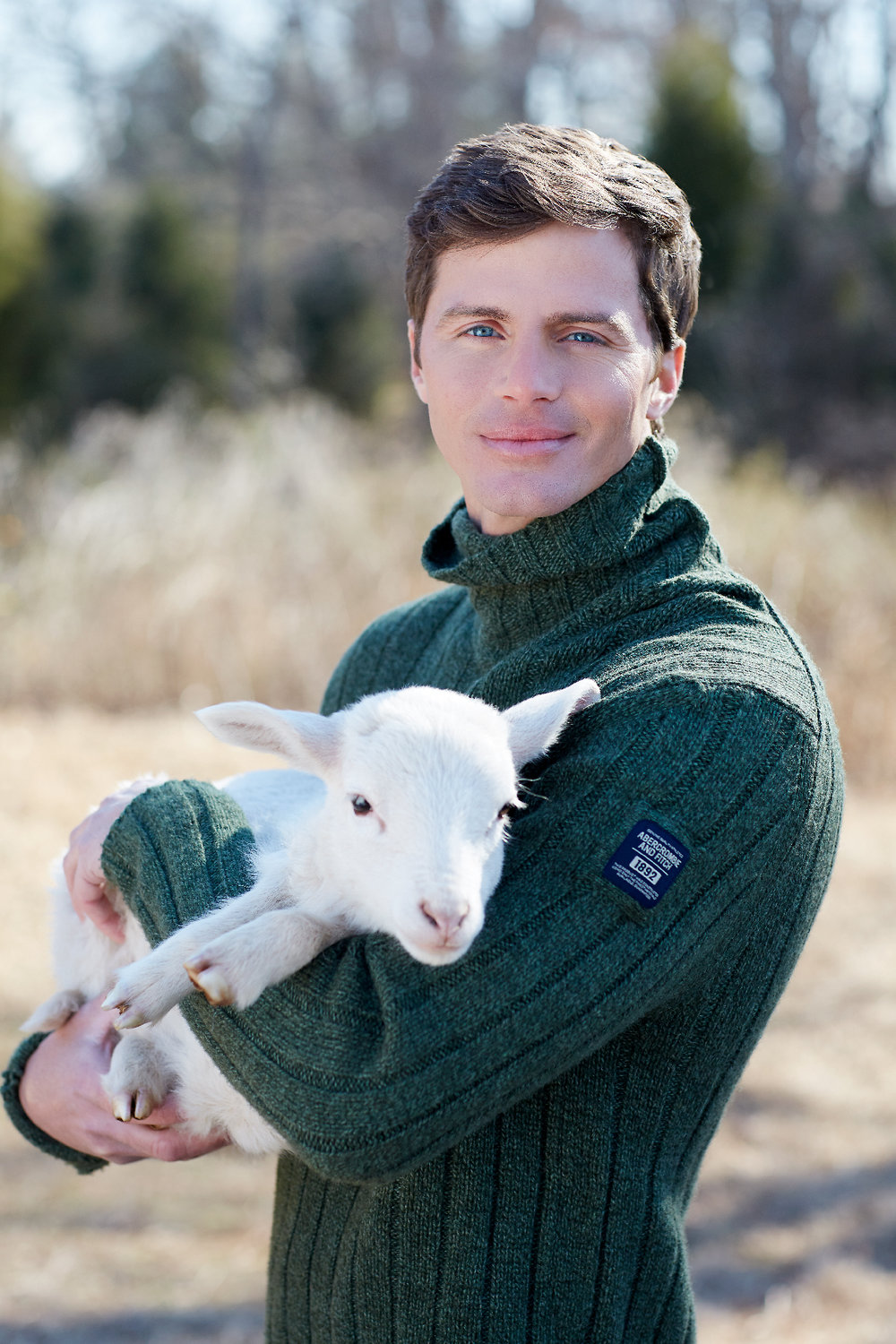 Fashionable Farmer + Abercrombie & Fitch + Lamb