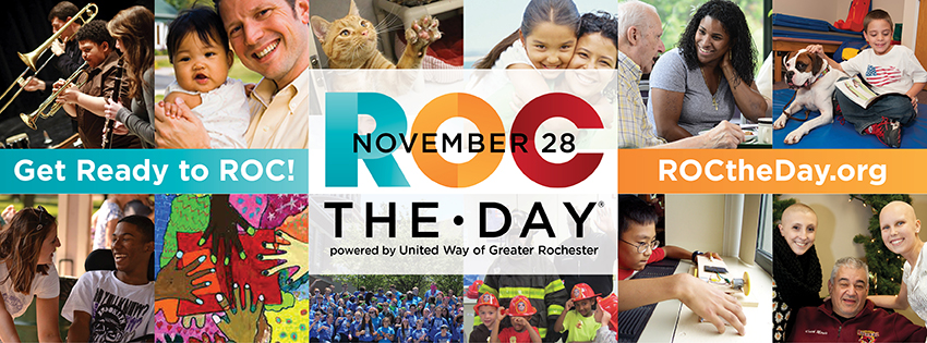 Get Ready to ROC! (collage of photos showing ROC the Day Participants)