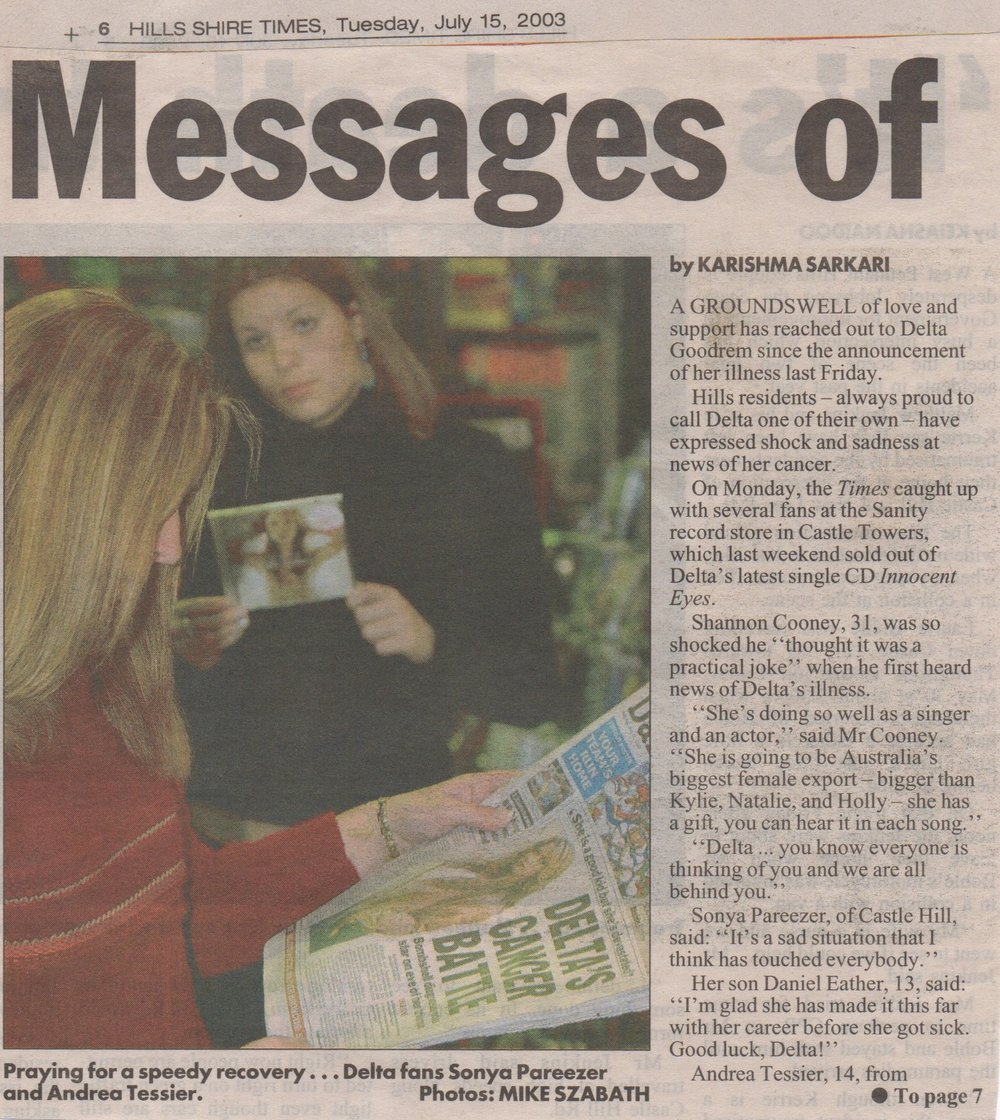 Delta Cancer Local Reaction News Article pt1