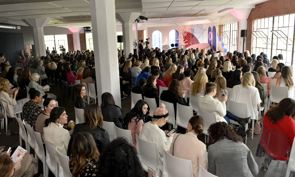 Over 500 women attended the inaugural Girlboss Rally in Los Angeles in March. Source: Getty Images
