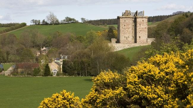 Borthwick Castle. Image: Supplied