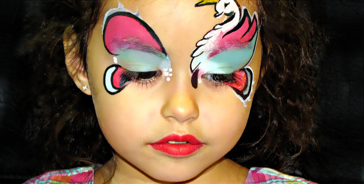 Maquillage de fantaisie pinceau et éponge 10