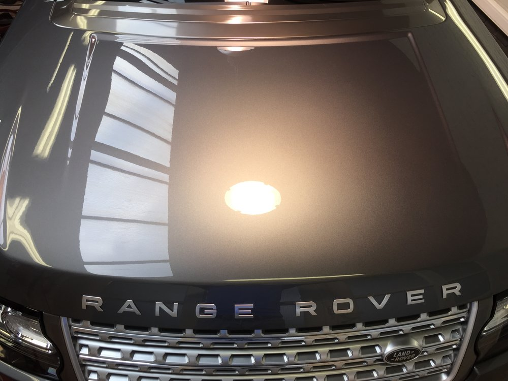 Range Rover Vogue Autobiography - Fully coated with  GYEON MOHS+