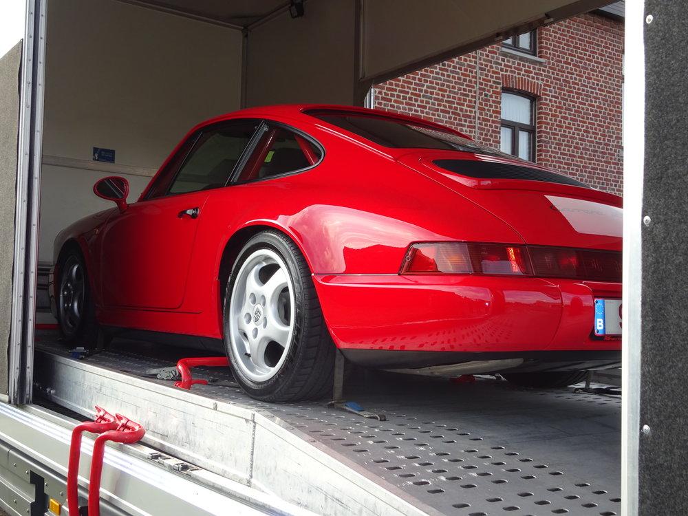 """Porsche 964 N/GT - Master detail - Swissvax  """"Concorso"""""""
