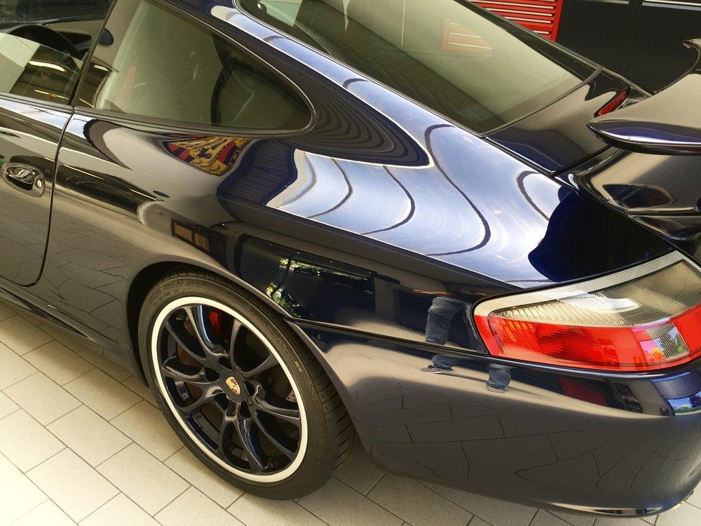 Porsche 996 GT3 - Master detail -  Swissvax  Concorso