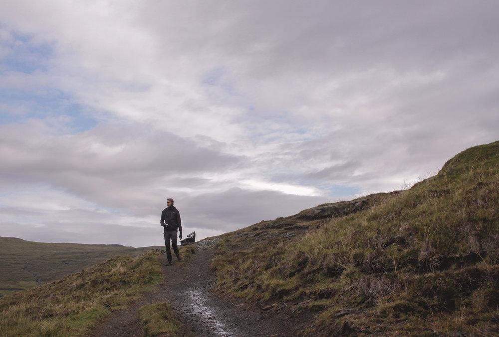 Sufriendo el frío de las islas Faroe (pero siempre cámara en mano!) Foto de @qimet