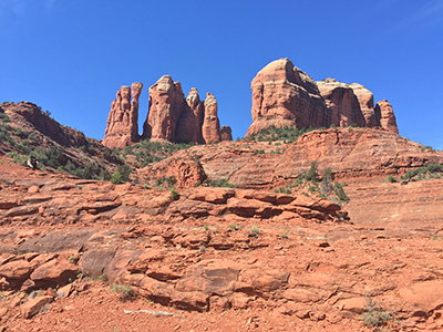 Outside Sedona, Arizona.