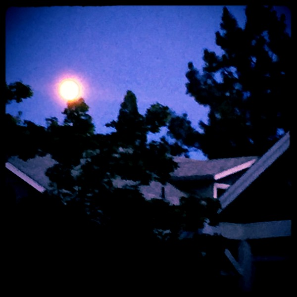 Moonrise, Guru Purnima, Studio City, California