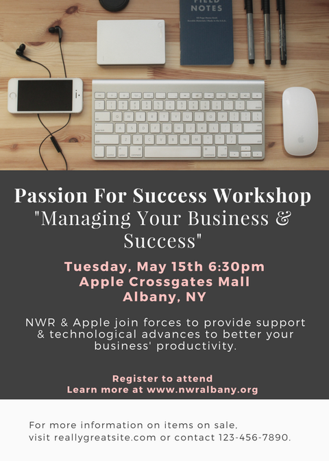 Passion For Success WorkshopManaging Your Business & Success.png