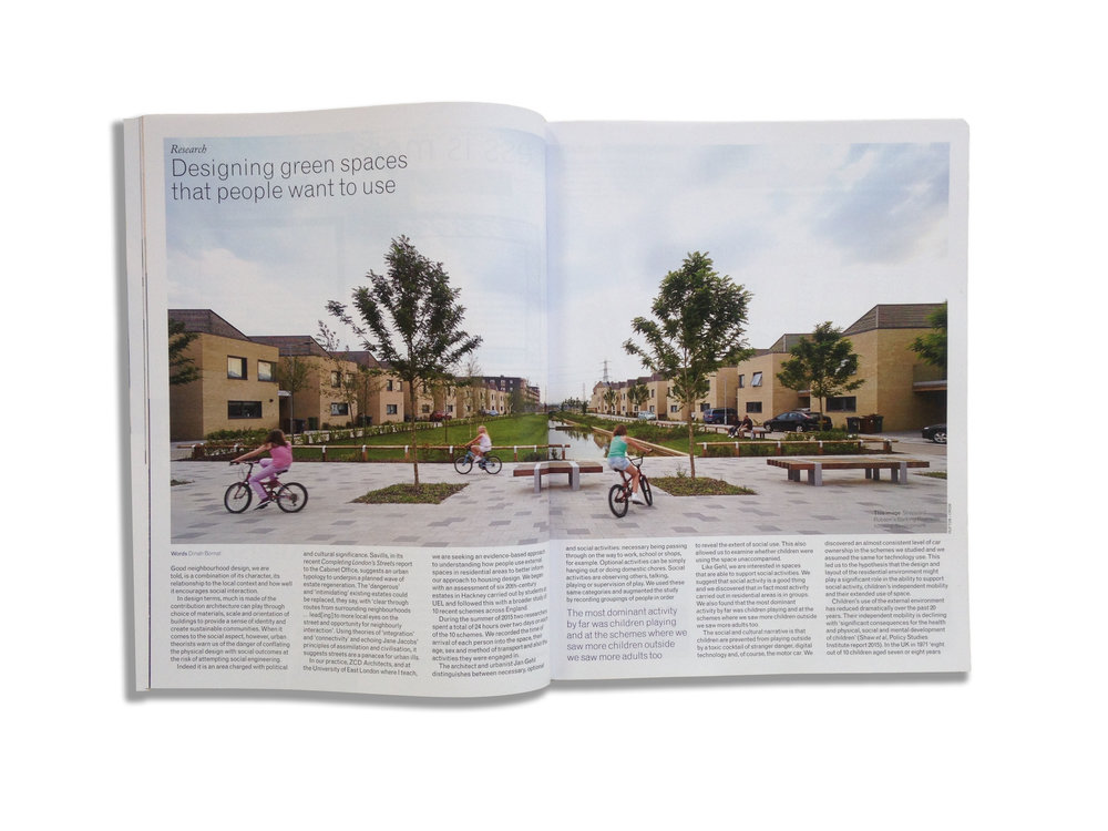 ZCD AJ green spaces article