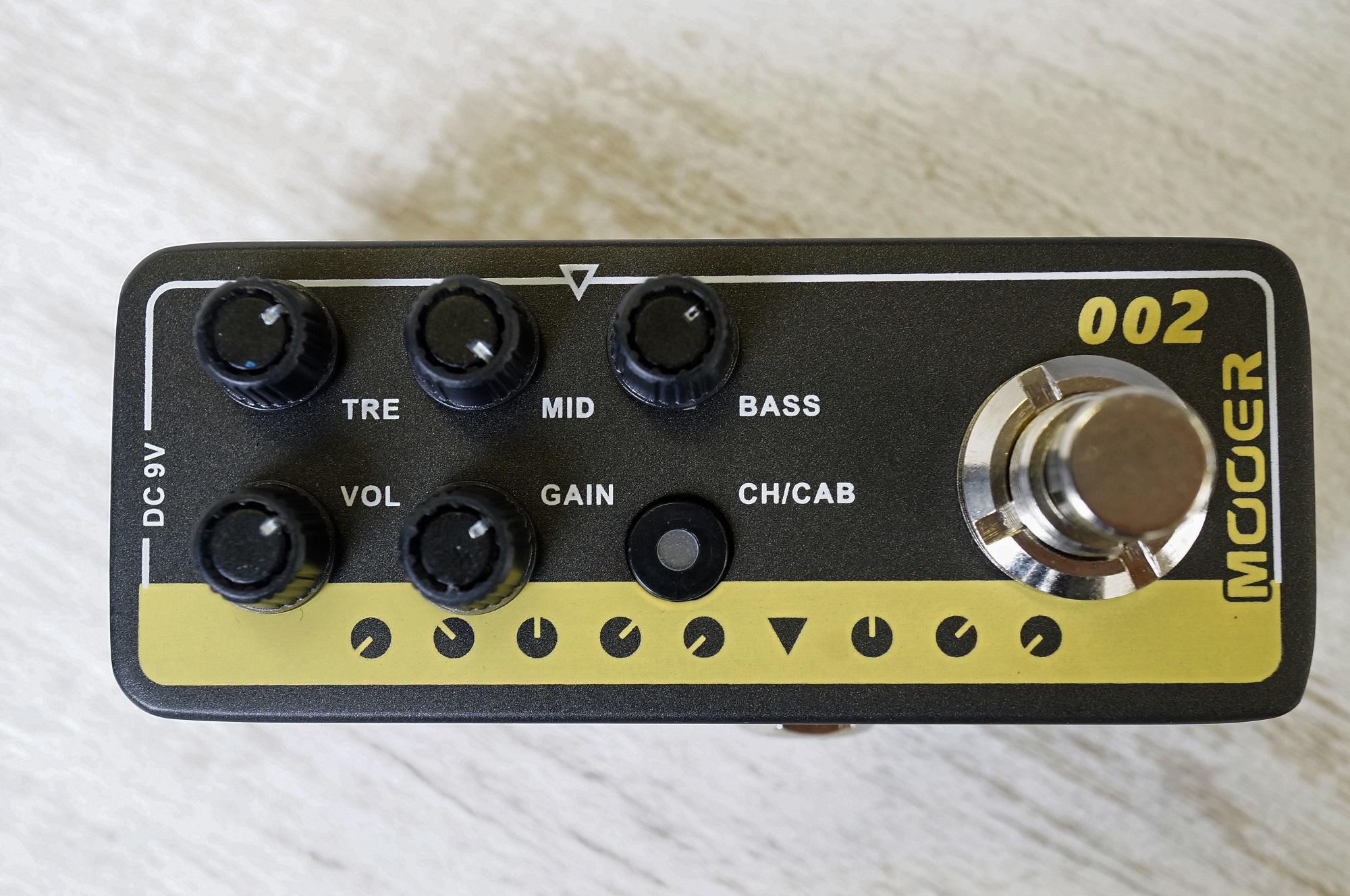 Jcm900mooer Mooer Micro Preamp 002 Uk Gold 900 Based On Marshall Jcm900 Lep International