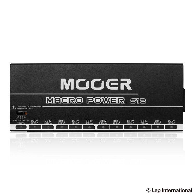 mooer macro power s12 all isolated power supply lep international