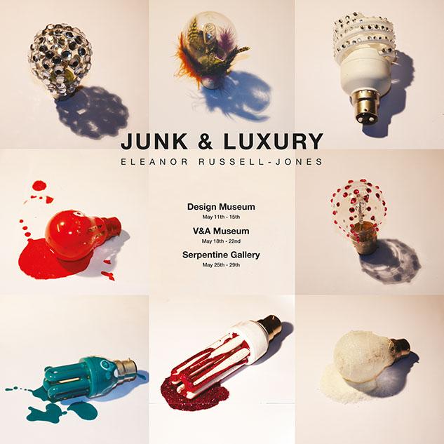Junk & Luxury : Exhibition Poster