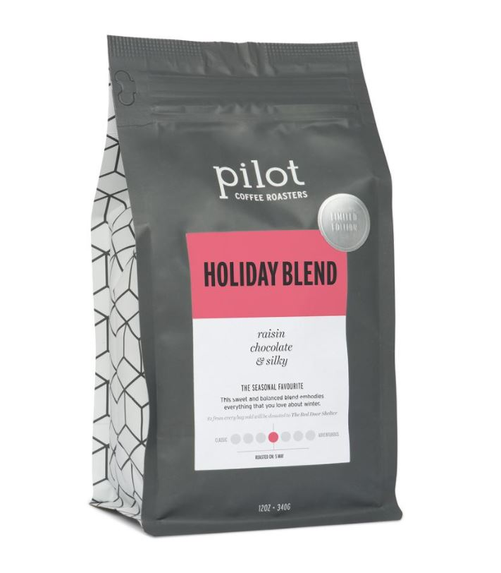 Life is just TOO SHORT to drink shitty coffee. This sweet and spicy blend is built for winter.($20 / 12 oz bag at  Pilot Coffee Roasters )