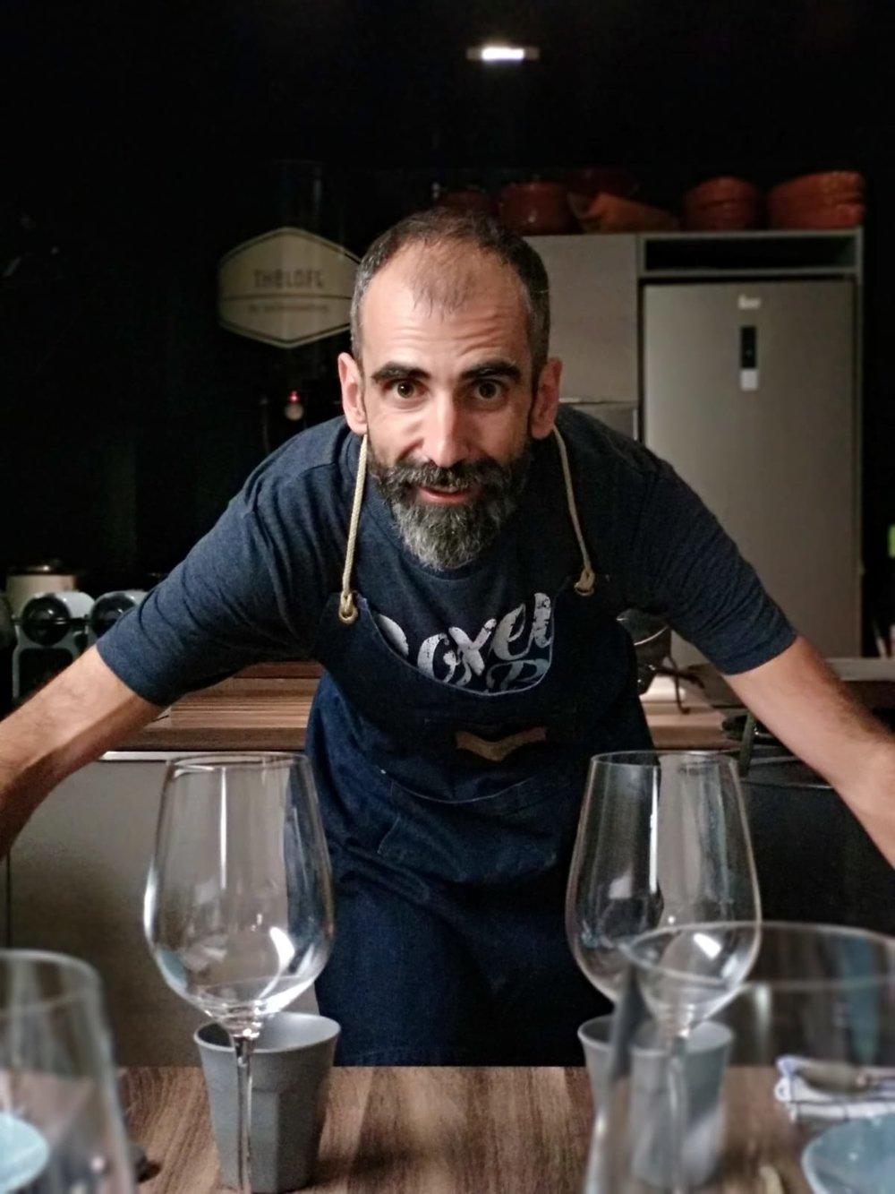 Simón Bragado, Chef y propietario