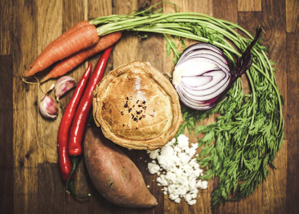 Raw Ingredients Pieman Dublin Ireland