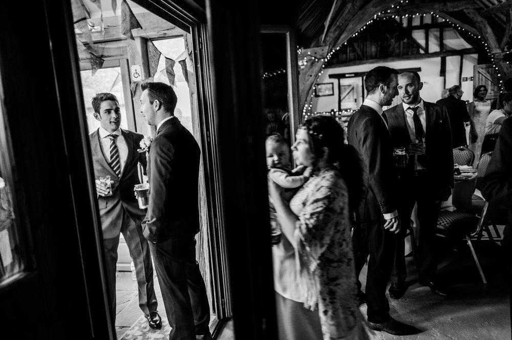 Notley Tythe Barn Reportage Wedding Photos 020.jpg