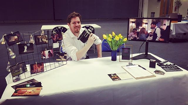 Had a great day exhibiting at the UWE wedding fair today. #wedding #bristolwedding #videography #weddingvideo #weddingvideography