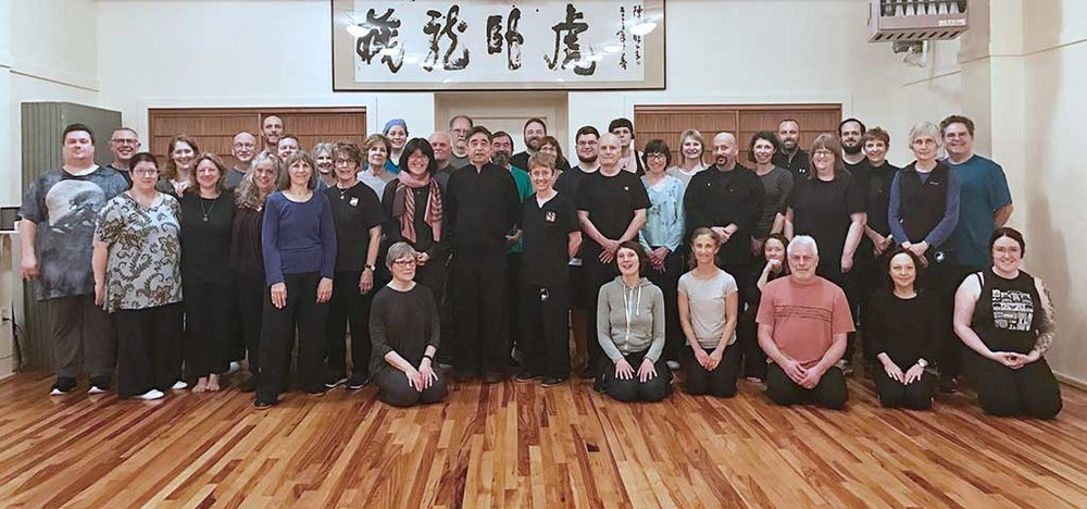 Our 2017 workshop with our Taijiquan Grand Teacher: Grandmaster Chen Xiao Xing