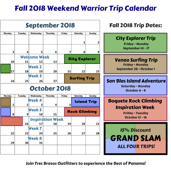 Copy of Fall 2018 Weekend Warrior Trip Schedule.png