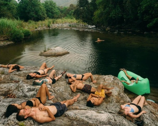 Piscine de Poseidon: Rio Pacora