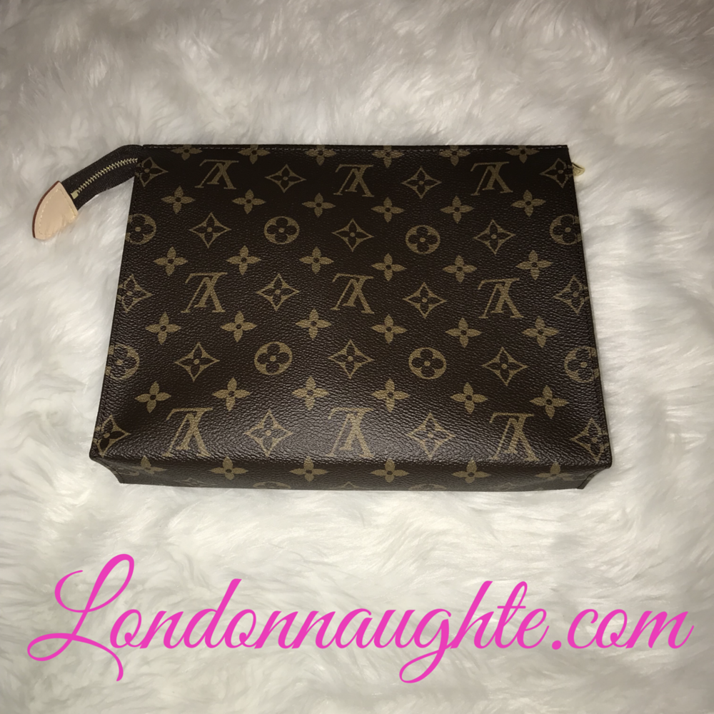 42110132c7e1 One of the hottest Louis Vuitton on items in the market and hardest to find  is the Toiletry Pouch 26