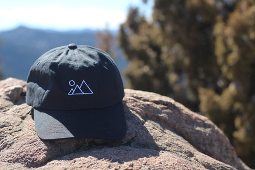 78cb5139b6c4d8 Black Mountain Dad Hat — far wanderings