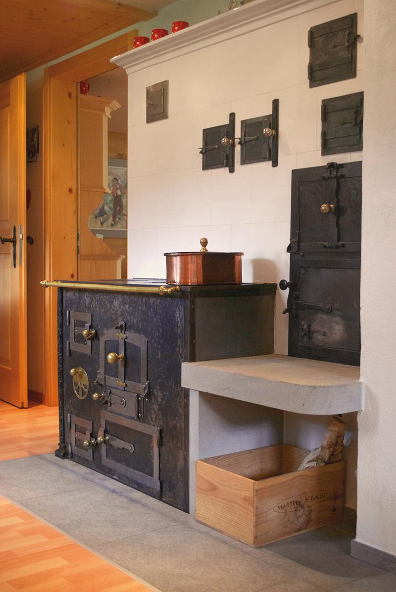 Antiker Ofen Küche